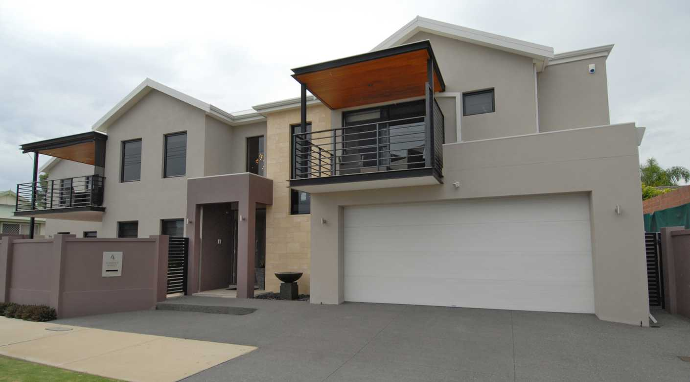 Narrow Lot New Home Design Perth Luxury Two Storey Home