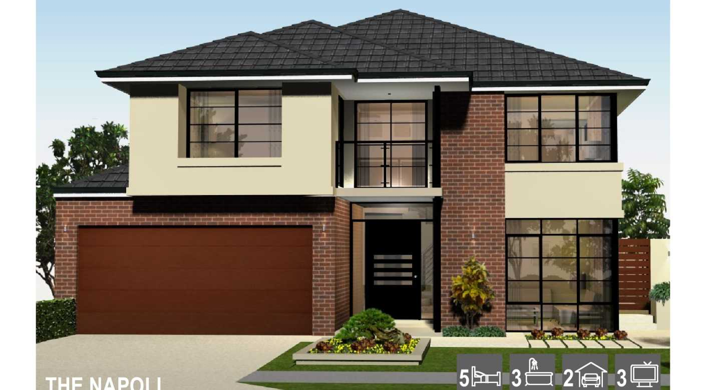Custom Design Two Storey Home Perth Luxury Double Storey Narrow Block New Home Artique Homes