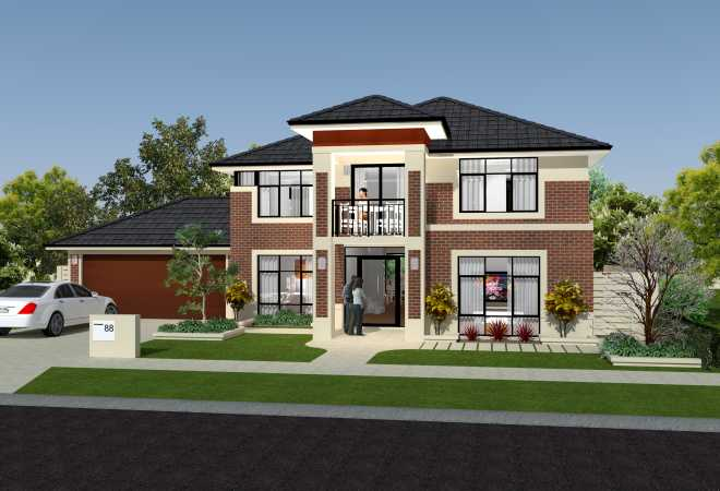 Small block artique homes for Homes for small blocks