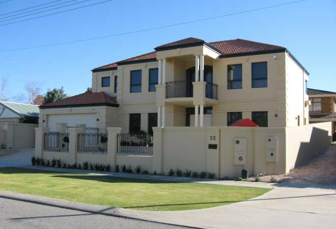 Two Storey Luxury New Home Designers Perth